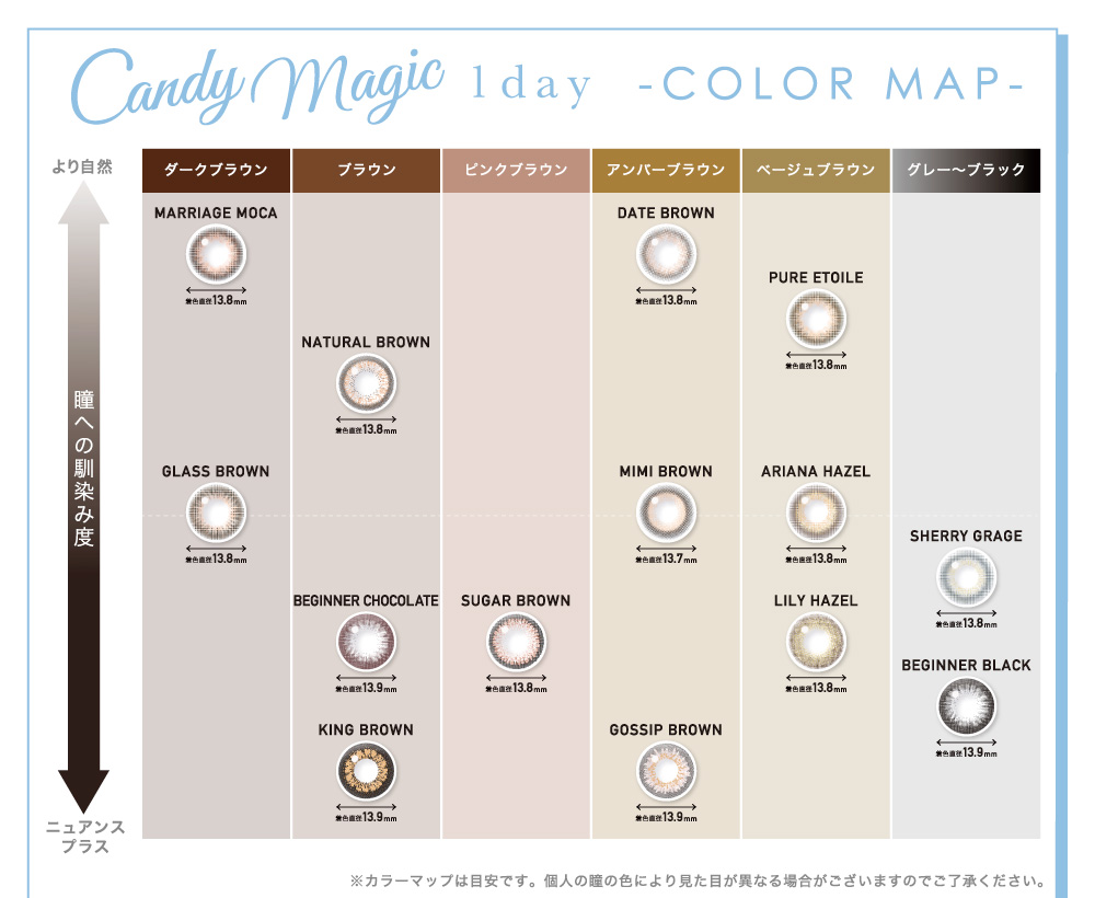 Candymagic 1day COLOR MAP