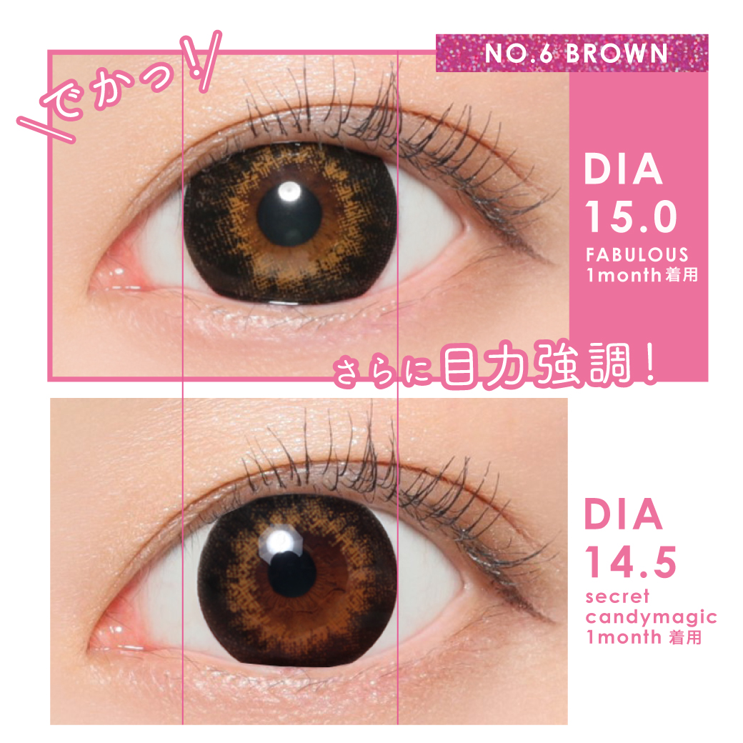 NO.6 BROWN DIA15.0