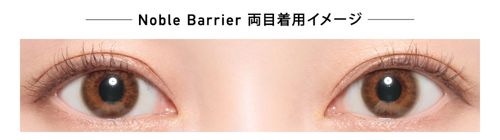 ReVIA Blue light Barrier ノーブル 1day 着画